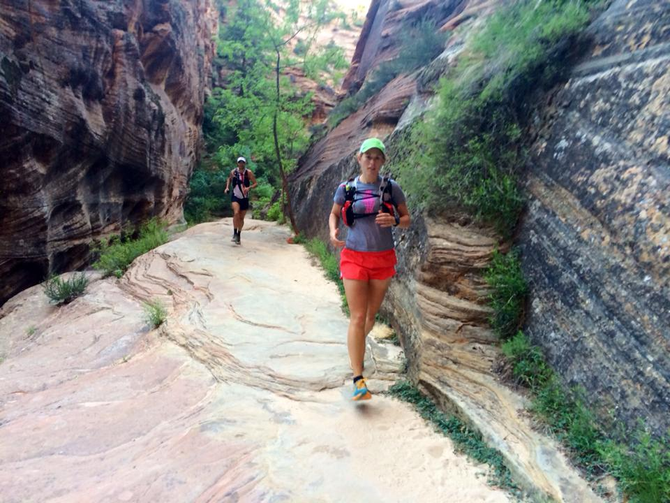 Zion Traverse (Westbound to Lee's Pass)